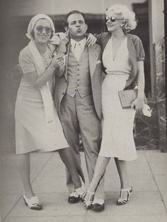 Can we recreate this photo of Jean Harlow and friends on our first sister wives vacay with Lee...  Pretty please?  I'll even let you be the blond with killer waves....