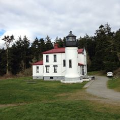 Fort Casey light on Whidbey Island