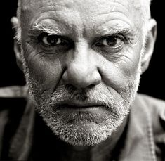 Malcolm McDowell (1943) - English actor. Photo by Andy Gotts
