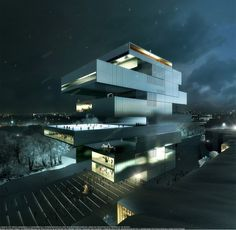Heneghan Peng Wins Moscow's NCCA Competition - Archivenue
