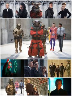 The BBC has released a new set of pictures from the next episode of Doctor Who - Time Heist,...