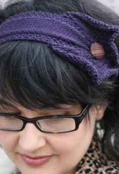 Twin Cities Headband - Knitting Patterns by Allyson Dykhuizen
