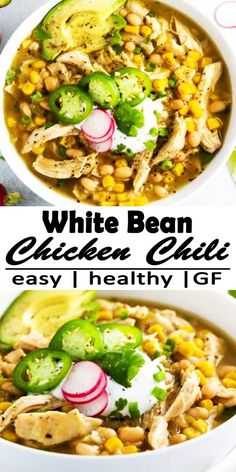 White Bean Chicken Chili, Roasted Jalapeno, Salad Recipes, Healthy Recipes, Cool Gadgets To Buy, Easy Food To Make, White Beans, Healthy Kids, Zodiac Signs Aquarius