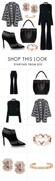 """""""Knit Glam"""" by leiastyle ❤ liked on Polyvore featuring Alexander McQueen, Sophia Webster, Marni, Dsquared2 and Gucci"""
