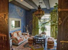 Moroccan-Visit Faedecor.com to take the quiz find out your decor style and learn about each style!