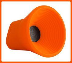 WOW Bluetooth Wireless Speaker Color: Orange - Audio gadgets (*Amazon Partner-Link)