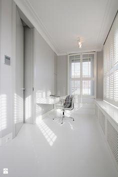 biały gabinet - zdjęcie od Katarzyna Kraszewska Architektura Wnętrz - Gabinet - Styl Klasyczny - Katarzyna Kraszewska Architektura Wnętrz