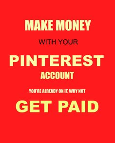 want to make money with your followers on Pinterest?? You can make a lot of…