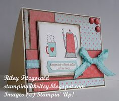 Stampin' with Riley: Morning Cup