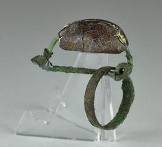 Etruscan bronze fibula, 3.5 cm long. Private collection
