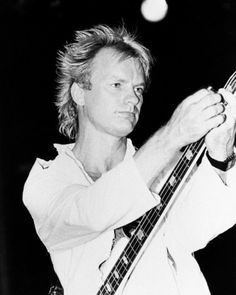 "Sting (1983) - while touring with The Police for their album ""Synchronicity""."