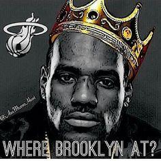 Miami Heat 2014 Playoffs Heat Fan, Love And Basketball, Nba Champions, Miami Heat, King James, Lebron James, Champs, Athletes, Brooklyn