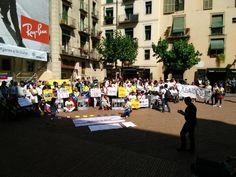 #30M Venezolanos desde #España se unen a la concentración #360UCV