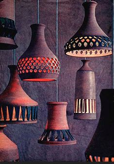 ceramic lamps-- must do as soon as I learn to throw thin-walled vessels