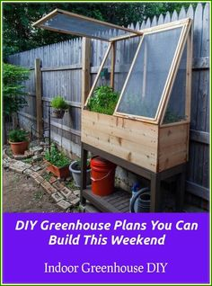 25 cute & simple herb garden ideas Raised garden bed great for older or handicapped gardeners or for those tiny special plants that otherwise are overlooked! The post 25 cute & simple herb garden ideas appeared first on Garden Ideas. Diy Herb Garden, Vegetable Garden, Garden Art, Garden Plants, Veggie Gardens, Garden Oasis, Garden Pond, Culture D'herbes, Privacy Fence Designs