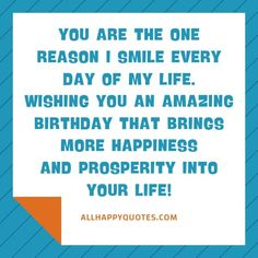 Celebrate your son's Birthday with these heartfelt Birthday Wishes for Son from mother and loved ones including funny birthday wishes for son in laws. Birthday Wishes For Myself, Birthday Wishes Funny, Sons Birthday, Day Of My Life, I Smile, First Love, First Crush, Puppy Love