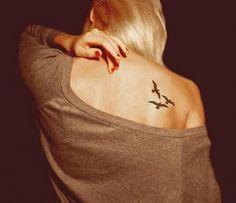 Tattoo Birds Flying