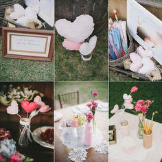 Ideias para colocar mais coração na decoração do casamento