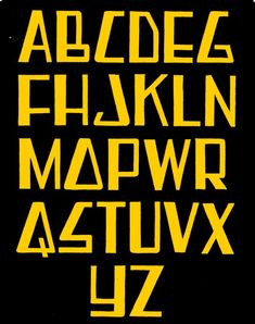 Alfabet based on the typical handlettering style used for signs in the fifties. Frits Jonker