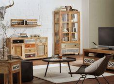 Orientalische Einrichtung mit Möbeln und Kommoden im Ethno-Look Spirit Of Summer, Sideboard, Modern, Buffet, Cabinet, Post, Storage, Interior, Furniture