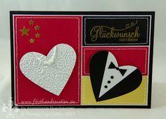 Stampin' Up! by First Hand Emotion: Hochzeitskarte