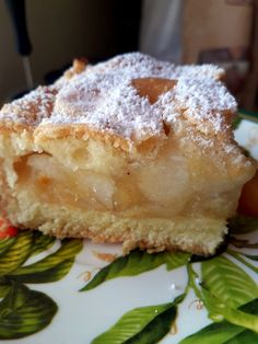 Takie tam moje pomysły: Lana szarlotka Apple Cake Recipes, Pie Recipes, Dessert Recipes, Cooking Recipes, Polish Desserts, Polish Recipes, Loaf Cake, Homemade Cakes, Food And Drink