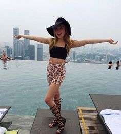 Photos: Peyton List Is Spending Time In Asia August 26, 2015 - Dis411