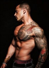 Hot man - Hot Tats!