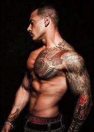 Hot man - Hot Tats!