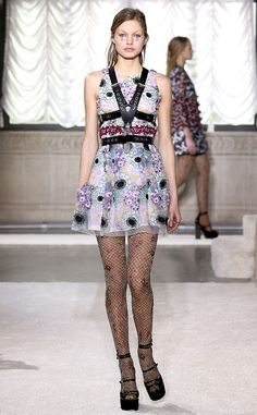 Giamba from Best Looks at Milan Fashion Week Fall 2015. Don't know about the dress but that harness though... <3