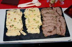Terrina de pollo & Pastel de carne con cebolla caramelizada