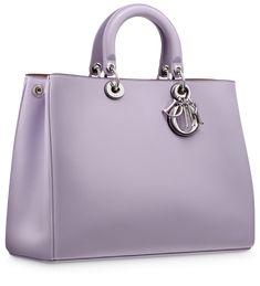 Dior Smooth Lilac Diorissimo Bag