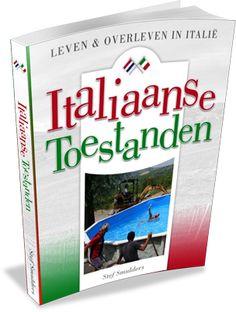 """Italiaanse Toestanden, Leven en overleven in Italië. Door Stef Smulders.  """"Het boek leest als een trein, met korte verhalen waarin de originele blogposts tot hun recht komen, en is te beschrijven als een combinatie tussen 'Help ik heb een huis gekocht in Italië' en het genieten van La dolce vita.""""  Lees hier meer: http://www.italieuitgelicht.nl/italiaanse-toestanden-leven-en-overleven-in-italie/"""