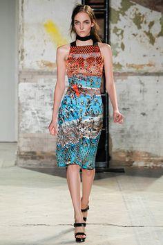 Proenza Schouler Spring 2013 Ready-to-Wear Fashion Show - Zuzanna Bijoch Runway Fashion, Spring Fashion, High Fashion, Fashion Show, Fashion Outfits, Fashion Design, Nyc Fashion, Fashion Weeks, Fashion 2018