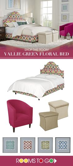 Create a sleek and sophisticated look for your bedroom with the Vallie arched bed.