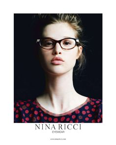 Anais Pouliot for Nina Ricci Eyewear Campaign Wholesale Sunglasses, Sunglasses Online, Sunglasses Sale, Stylish Glasses Frames, Stylish Sunglasses, Wearing Glasses, Fashion Designer, Girls With Glasses, Womens Glasses