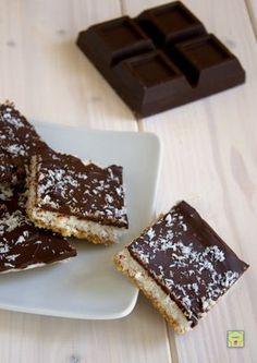 quadrotti cocco e cioccolato gp