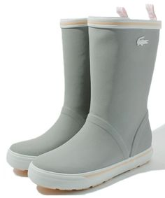 LACOSTE - Purrfect rain boot for Seattle! Sooo loove!