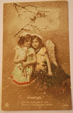 Victorian Angels Christmas Past, Christmas Images, Victorian Angels, Photo Cards, Vintage Photos, Disney Characters, Fictional Characters, Heaven, Tags