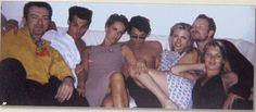 Andy Gill [Gang Of Four], Johnny Depp, Paula Yates, Michael Hutchence [INXS], Courtney Love, Bono Vox, Kate Moss