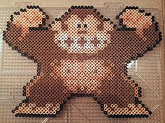 Donkey Kong perler beads by PerlerPixie on deviantART