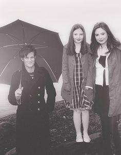Eleven, Amy, and young Amelia Pond