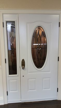 Single Door with Inserts of different shapes