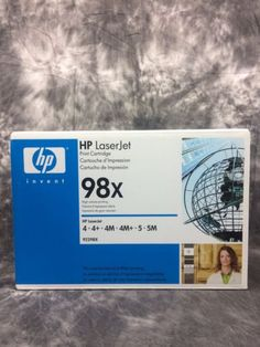 Hp laser jet print #cartridge toner printer accessory #92298x #brand new  ,  View more on the LINK: http://www.zeppy.io/product/gb/2/112274232158/