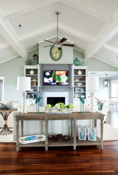 family room | Amy Tyndall Design