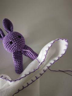Lovely amigurumi animal bunny girl with lovely dress hand Crochet Toys, Crochet Baby, Knit Crochet, Baby Gift Sets, Baby Gifts, Amigurumi Patterns, Crochet Patterns, Crochet Security Blanket, Baby Vans