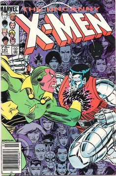 Cover for The Uncanny X-Men (Marvel, 1981 series) #191 [Direct Edition]