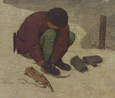.:. Detail from The Numbering at Bethlehem, Pieter Bruegel the Elder