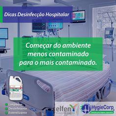 A Hygiecorp preparou uma lista de dicas sobre desinfecção hospitalar!  - Protect Hc:  Com baixa toxidade e alta eficácia, possui a combinação de dois agentes biocidas de reconhecida performance e amplo espectro de ação para vários tipos de bactérias patogénicas.  Na HygieCorp você encontra todos os produtos para a higienização de suas mãos, como sabonetes e álcool gel.   #Dicas #DesinfecçãoHospitalar #Protecthc #Higyecorp  Fonte: Proslim