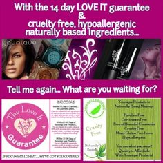 What are you waiting for? #younique #makeup #nature #love www.youniqueproducts.com/NitaClegg